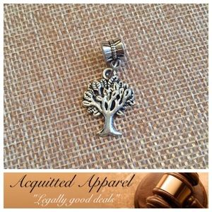 Acquitted Apparel Jewelry - Silver Tree Of Life Charm Fits Pandora