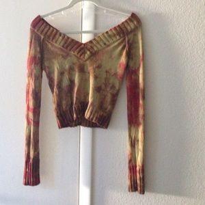 Guess sweater crop top!