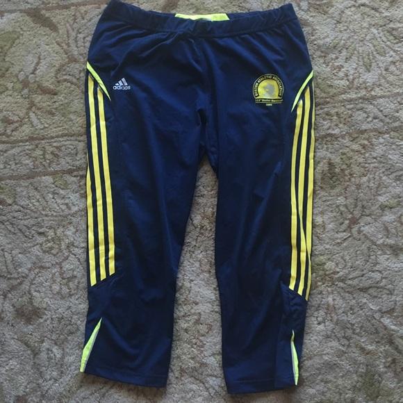 1619beeada555 Adidas Pants - Boston Marathon Adidas Supernova running leggings