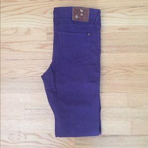 Jack Wills Denim - Jack Wills purple jeans