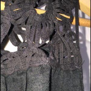 Max Studio Tops - Max Studio linen top with crochet accent