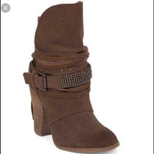 naughty monkey Shoes - Naughty Monkey Santa Anna boots tan