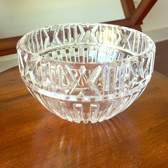 Tiffany Amp Co Other Tiffany Atlas Crystal Bowl Poshmark