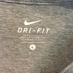 Nike Tops - Nike Dri- Fit gray heathered work out too shirt