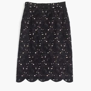 J.Crew collection skirt in Austrain lace