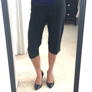 EXPRESS cropped dress slacks
