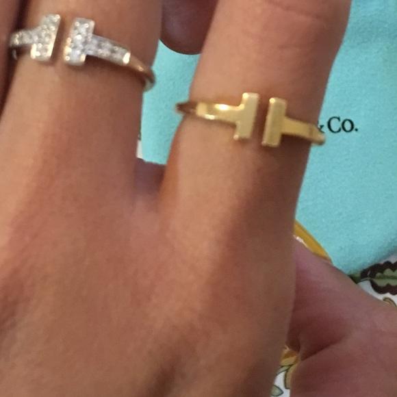 9e0d4c95b Tiffany & Co. Jewelry | Sold Tiffany Twire Ring 18k Yellow Gold ...