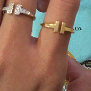 Tiffany Co Jewelry Sold Tiffany Twire Ring 18k Yellow Gold