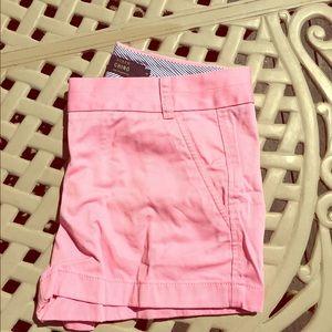 J.Crew Pink Chino Shorts