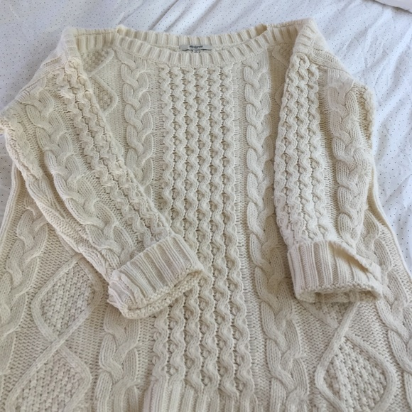 dd2bd3bbcec Madewell Sweaters - Madewell fisherman cable sweater