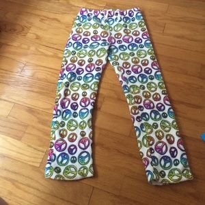 peace sleep pants