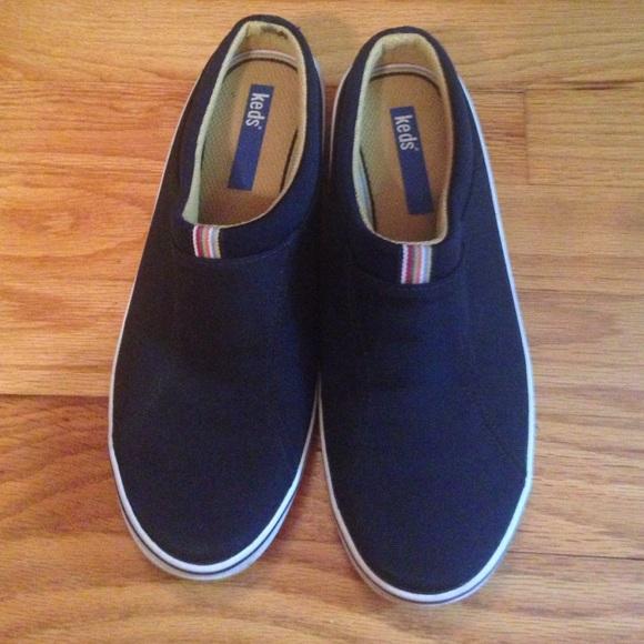 Keds Shoes   Keds Sz 65 Slip On Black