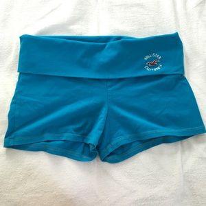 Blue Hollister yoga pants on Poshmark