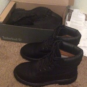 Timberland Other - ‼️Black Timberlands Mens size7 (65$)‼️⚫️