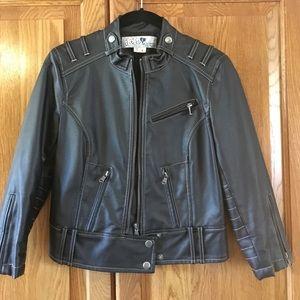 Faux leather jacket - XS