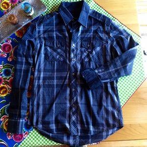 7 Diamonds Other - 7 Diamonds Plaid Shirt
