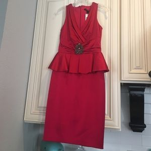 David Meister Dresses & Skirts - Ruby red cocktail dress