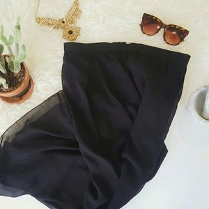 Bershka Dresses & Skirts - BERSHKA black skirt with shorts