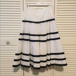 Cache Nautical skirt