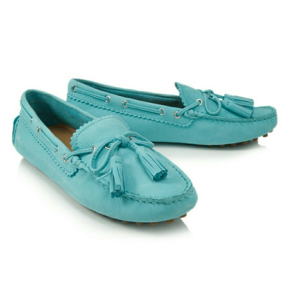 521bd0bd1ba15 Coach Shoes   Sale Nadia Nubuck Driver Moccasin Loafers   Poshmark