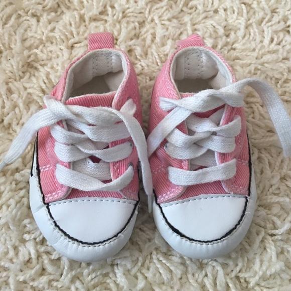 Converse Shoes | Crib Pink Size 2eu 18