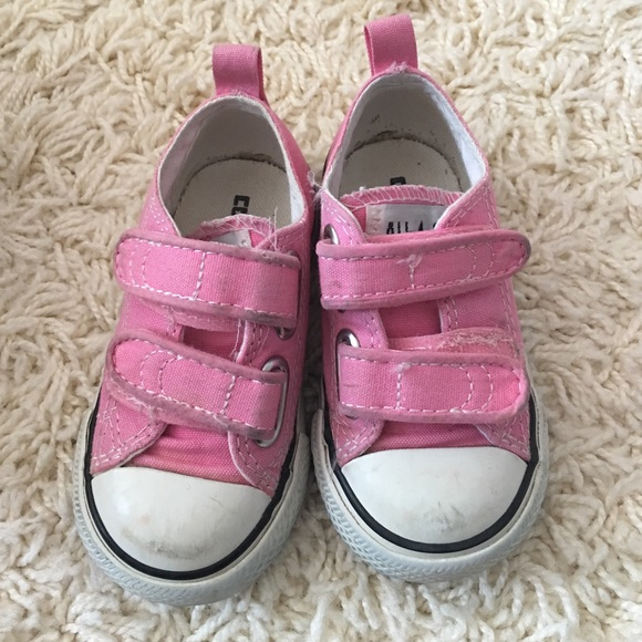 0dd8da7fdd7c Converse Other - Toddler Girl Pink Converse size 5