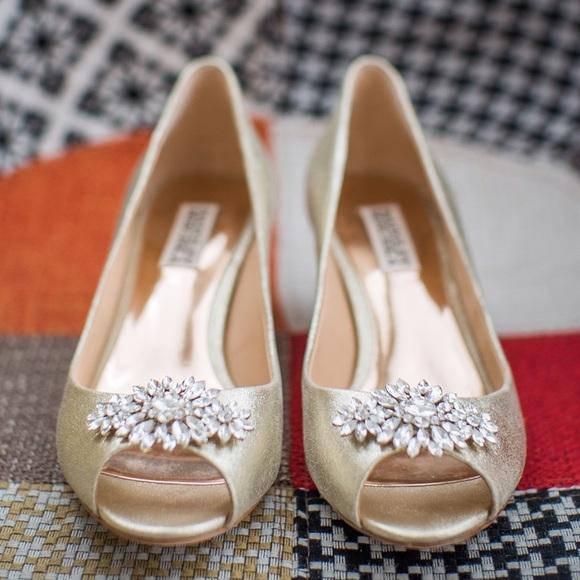 606f709220 Badgley Mischka Shoes - Badgley Mischka Nakita II peep toe pumps