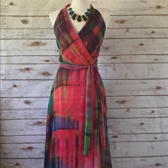 db7eb0485b Leslie Fay Maxi Dress