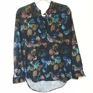 Missoni Tops - Gorgeous floral blouse from Target