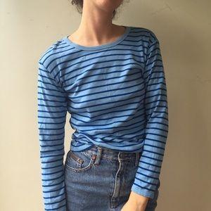 Hanna Andersson Tops - Organic Cotton Long Sleeve Striped Shirt