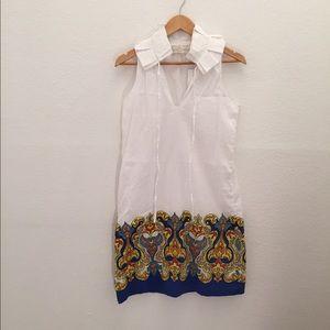 TRACY NEGOSHIAN  Dresses & Skirts - TRACY NEGOSHIAN Royal Blue Kadence shift dress