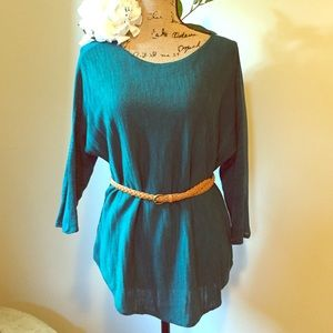 Anthropologie Green Sweater by Moth