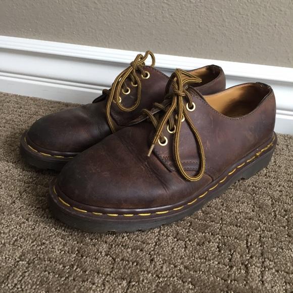 0b0a3fbf3ed Vintage Original brown Dr. Martens