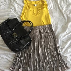 Gap Accordion Pleated Skirt
