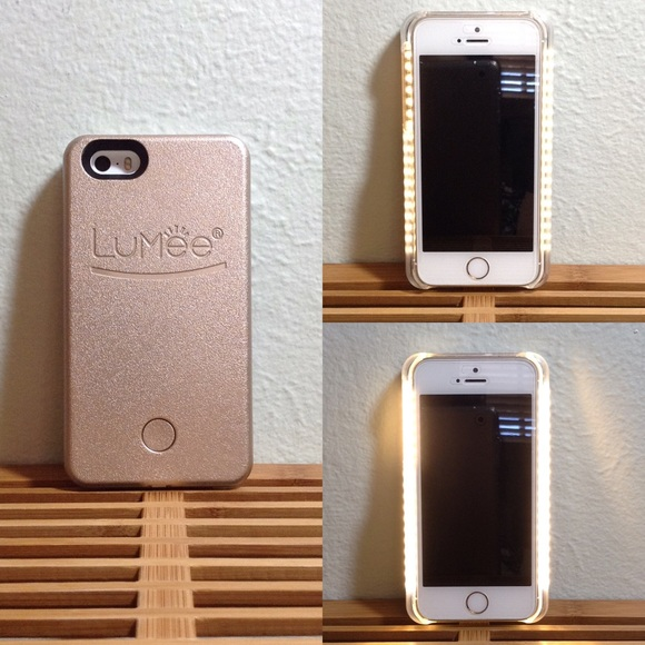 more photos f0cae e019c Rose Gold LuMee iPhone 5/5s Case