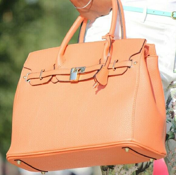 JustFab Bags - Peach bag