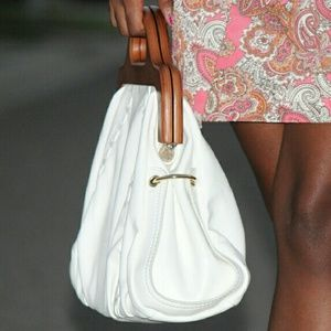JustFab Bags - White tote