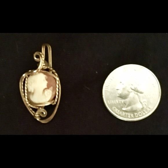 Jewelry antique yellow 10k gold cameo pendant lovely poshmark antique yellow 10k gold cameo pendant lovely aloadofball Images