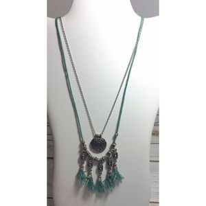 Jewelry - Double strand boho necklace