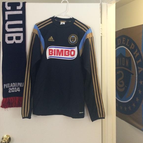 finest selection 89ea1 6085f Philadelphia Union MLS long sleeve training jersey