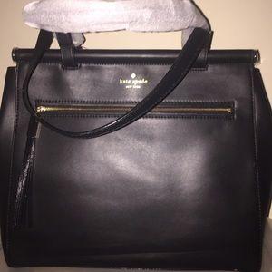 New Kate spade cherise royal place bag purse black