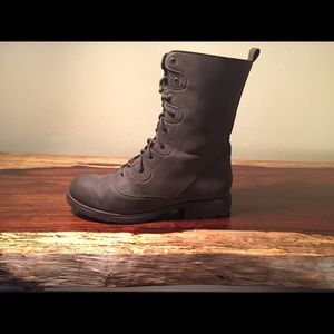 Nasty Gal Shoe Cult Diverge Combat Boot