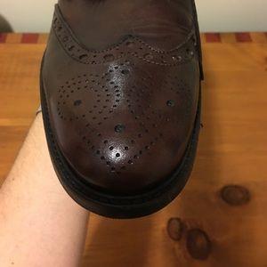 Gianni Russo Men's wingtip brogue shoe NWT