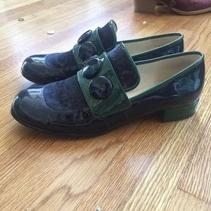 Orla Kiely Shoes - Orla kiely x Clarks vintage 60s shoes size 8