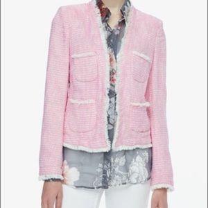 L'AGENCE Jackets & Blazers - NWT L'AGENCE Jules frayed jacket