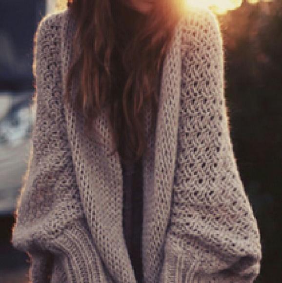 Zara oversized cable knit cardigan. M 57ccacc678b31cb570002aa1 920fad2cd