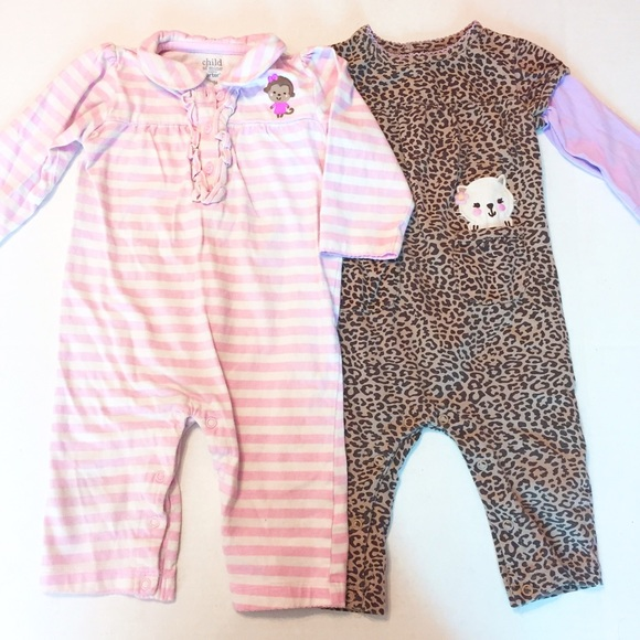 1a9b762cd1 Child Of Mine One Pieces | Carters Bundle Of Long Sleeve Romper ...