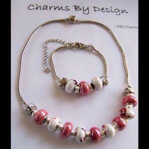Jewelry - SOLD Two Piece Charm Necklace &Bracelet