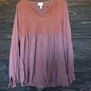 Tops - Dusty pink blouse