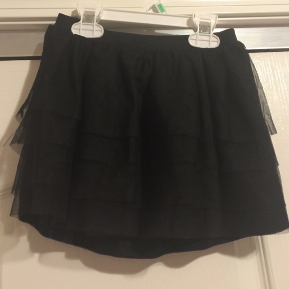 56% off Other - Girls Black ruffle skirt size 4/5 from ...: https://poshmark.com/listing/Girls-Black-ruffle-skirt-size-45-57ccb623522b454687003b98